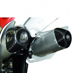 Carbon cap cover exhaust για Honda CRF 250 (2014 - 2017)